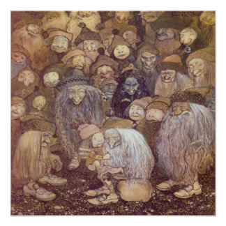 The Trolls and the Youngest Tomte Poster