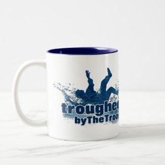 The Troop Personalised 'Troughed by The Troop' Mug