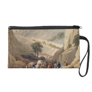 The Troops Emerging from the Narrow Part of the De Wristlet Purse