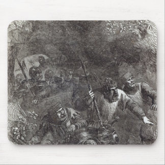 The Troops of Lord Montacute Mouse Pad