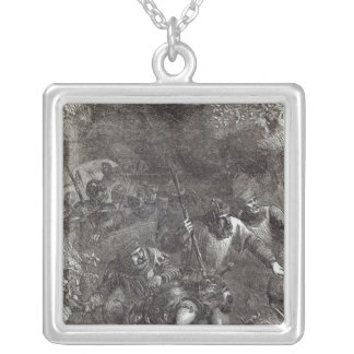 The Troops of Lord Montacute Silver Plated Necklace