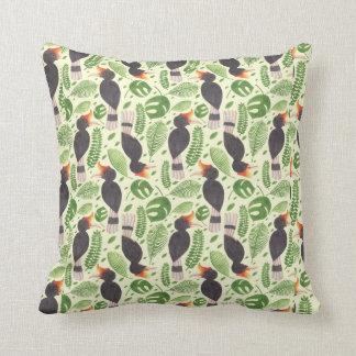 The Tropic Bird Throw Pillow