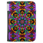 The Tropical Kaleidoscope, abstract fractal Cases For Kindle