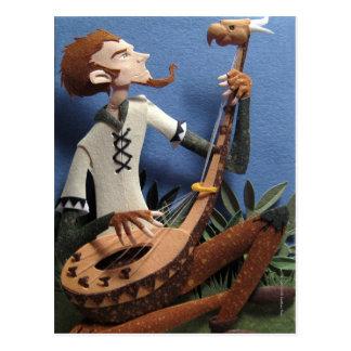 The Troubadour Postcard