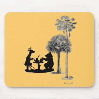 The trouble with bears... mouse pad