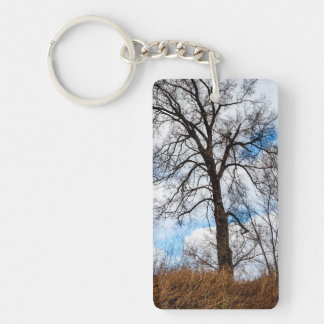 the troubled tree keychain