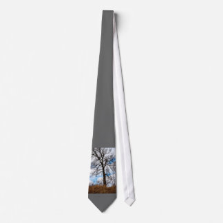 the troubled tree neck tie