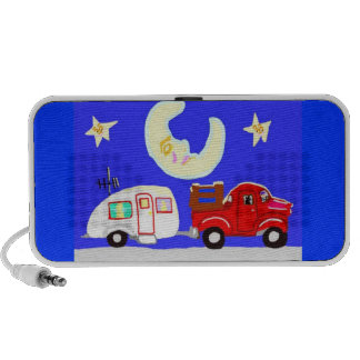 The Truck, The Trailer, And The Happy Moon PC Speakers