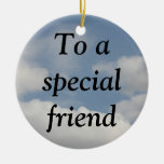 The True Meaning of Friendship (1 Corinthians 13) Ornaments