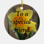 The True Meaning of Friendship (1 Corinthians 13) Christmas Ornaments