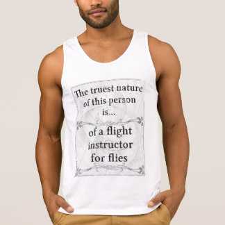 The truest nature: flight instructor flies insects tanktops