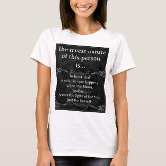 The truest nature... solar eclipse 2 (Dark) T-Shirt