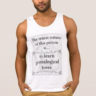 The truest nature: trees genealogical learn tanktop