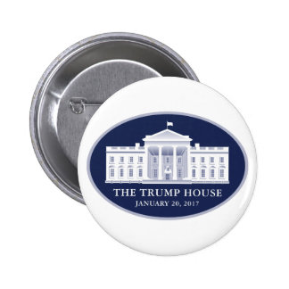 The Trump House Pinback Button
