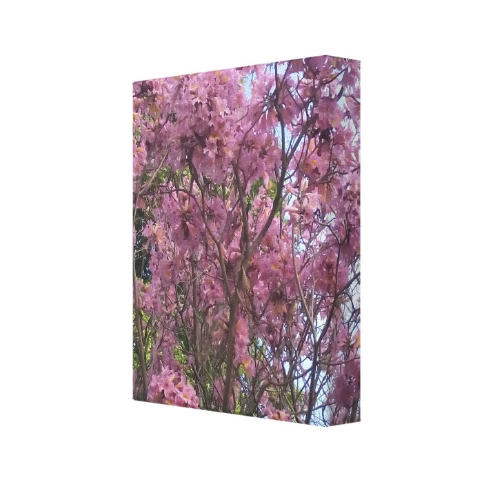The Trumpet Flower Tree Canvas Print