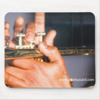 The Trumpet Player - Mousepad