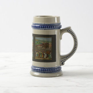 The Trumpets Of Jericho By Fouquet Jean (Best Qual Beer Stein