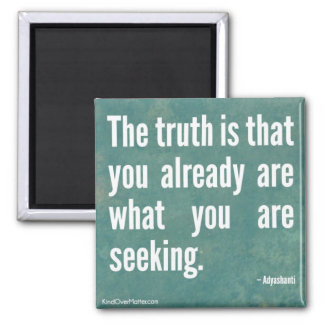 The Truth 2 Inch Square Magnet