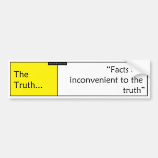 The Truth Bumper Sticker
