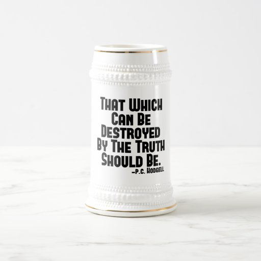 The Truth Hurts 18 Oz Beer Stein