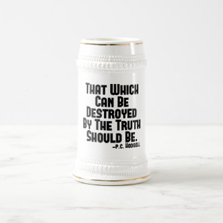 The Truth Hurts Beer Stein