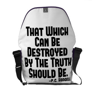 The Truth Hurts Courier Bag