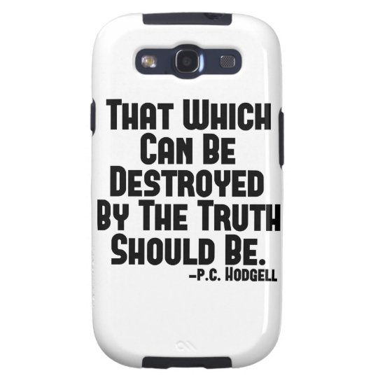 The Truth Hurts Samsung Galaxy SIII Cover
