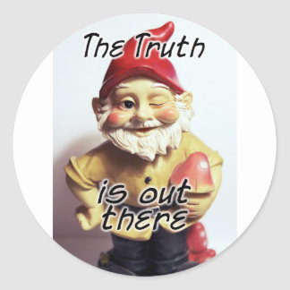 The Truth is Out There Classic Round Sticker
