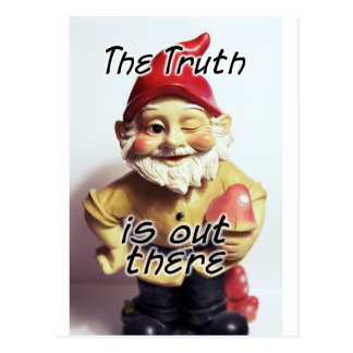 The Truth is Out There Postcard