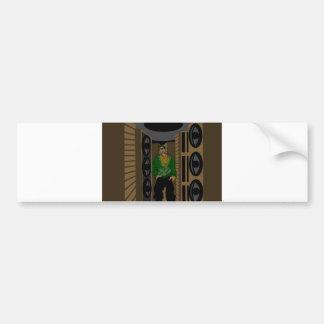 The Truth Seeker s Reverb digital Bumper Sticker