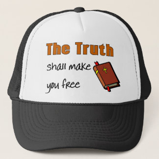 The truth shall make you free John 8, 32 Trucker Hat