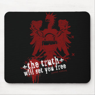 The Truth Will Set You Free Mouse Pad