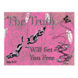 The Truth Will Set You Free - - Postcard