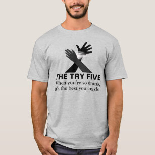 e89bbccb3 Try And Fail T-Shirts - T-Shirt Design & Printing | Zazzle