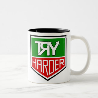 "THE ""TRY HARDER"" CUP"
