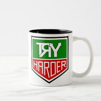 "THE ""TRY HARDER"" CUP TAZA DE DOS TONOS"