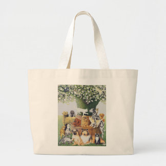 The Trysting tree Large Tote Bag