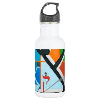 The Tsadi Letter - Hebrew alphabet 18oz Water Bottle