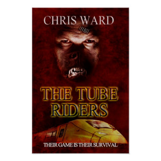 The Tube Riders - cover art poster