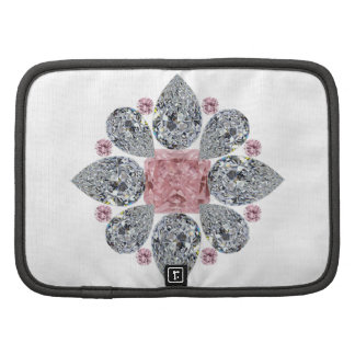 The Tudor Rose Pink Diamond Organizer