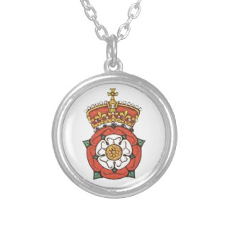 The Tudor Rose Silver Plated Necklace