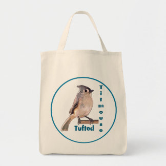 The Tufted Titmouse Tote Bag