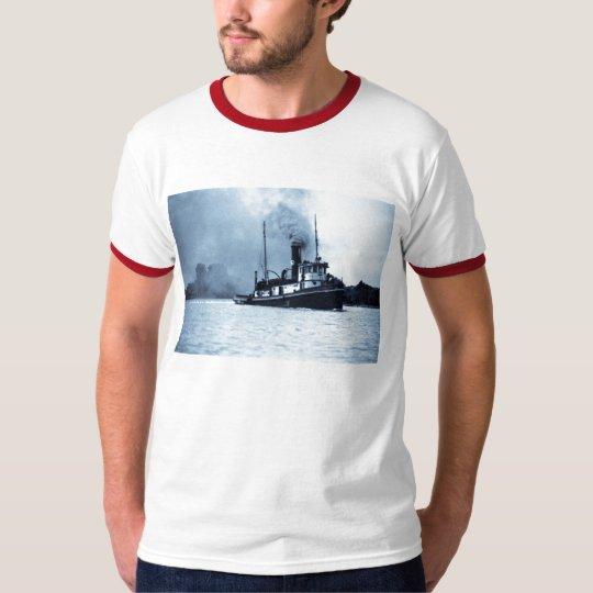 The Tug Jesse James Great Lakes Tug Boat T-Shirt