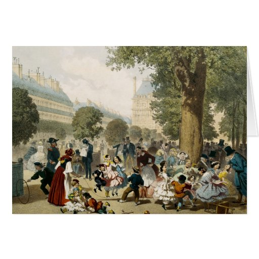 The Tuileries, 1856 Greeting Card