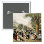 The Tuileries, 1856 Pinback Buttons
