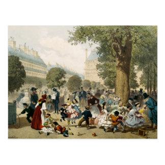 The Tuileries, 1856 Postcard