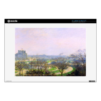 The Tuileries by Camille Pissarro Laptop Skins