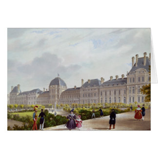 The Tuileries during the Restoration Card
