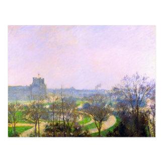 The Tuileries Garden by Camille Pissarro Postcard