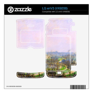 The Tuileries Garden by Camille Pissarro Decal For The LG enV3